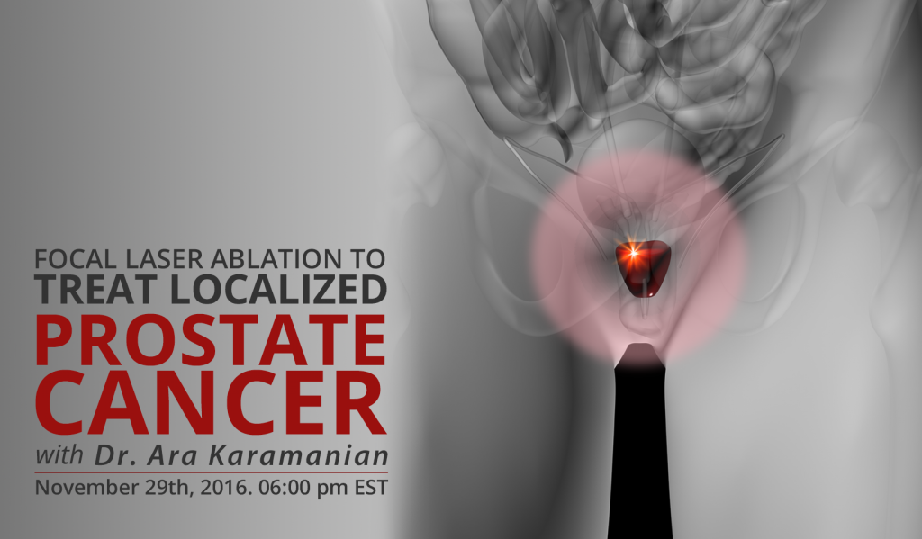 focal laser ablation prostate cancer