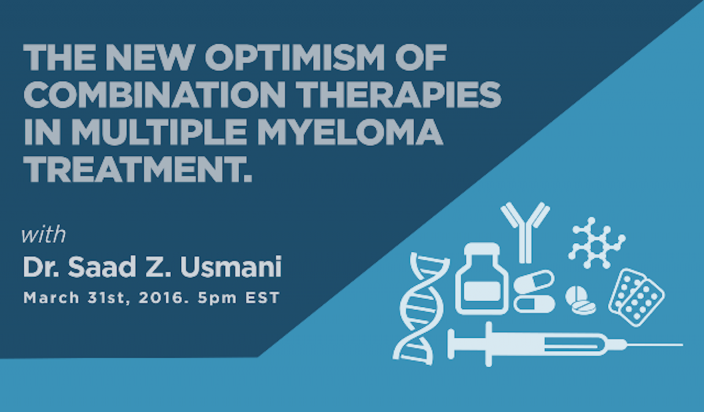Combination therapy in multiple myeloma poster