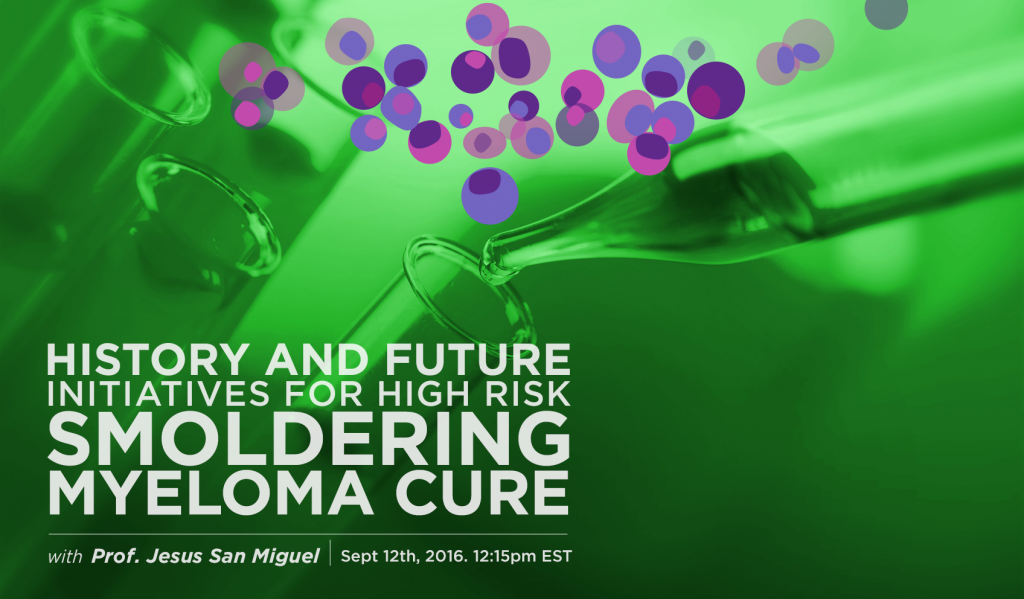 Future initiatives in smoldering myeloma poster