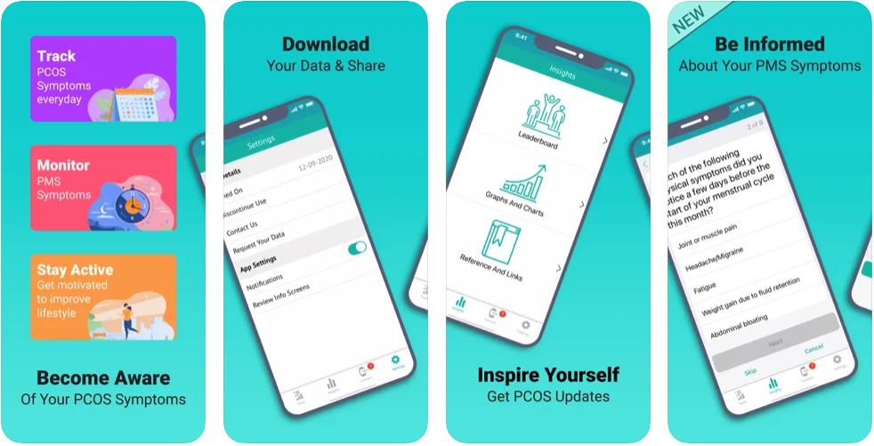 PCOS Tracker app